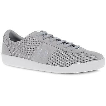 Fred Perry Men's Stockport Unlined Suede Leather Trainers B8230-432