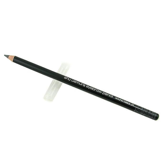 Shu Uemura H9 harde formule wenkbrauw potlood - # 01 H9 geluid zwart - 4g/0.14 oz