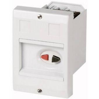 Inhägnad infällt montage, + ställdon (L x b x H) 192 x 85 x 80 mm grå Eaton E-PKZ01 1 dator