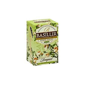 Blanco Magic-leche Oolong Green Tea-20 Bolsas de Té
