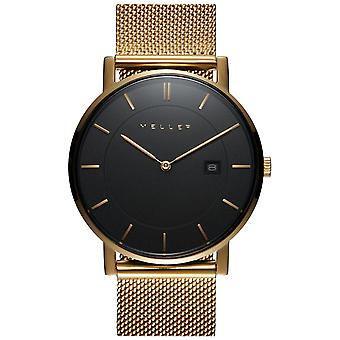 Meller Astar All Gold L Watch for Unisex Analog Japanese Quartz with 1ON-2GOLD Gold Plated Stainless Steel Bracelet