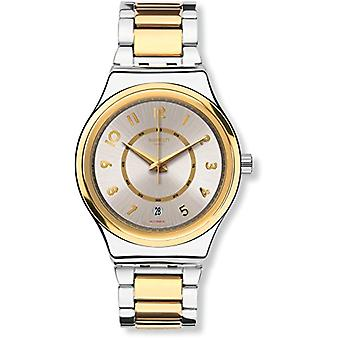 Swatch Automatic digital watch with stainless steel band YIS410G