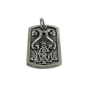 Pendant with chain Stainless Steel Christian Audigier Washer