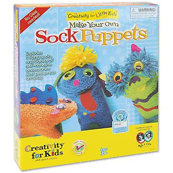 Make Your Own Sock Puppets Kit 1616C
