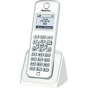 Cordless VoIP AVM FRITZ!Fon M2 Babyphone, Hands-free Backlit White, Silver