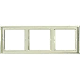 Jung 3x Frame LS 990 Cream-white LS983W