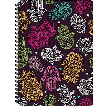 Jewel Tones Spiral-Bound Notebook 7