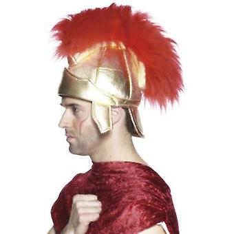 Smiffys Roman Soldiers Helmet Gold With Plume (Costumes)