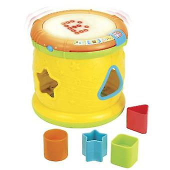 WinFun Drum With Light, Sound And Inserts (Toys , Preschool , Puzzles And Blocs)