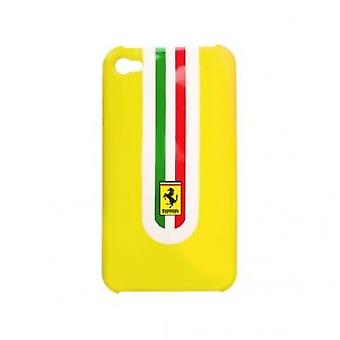 Ferrari Hard Cover case yellow with Ferrari logo iPhone 4 / 4s
