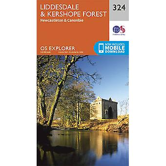 Liddesdale and Kershope Forest 9780319263297 by Ordnance Survey