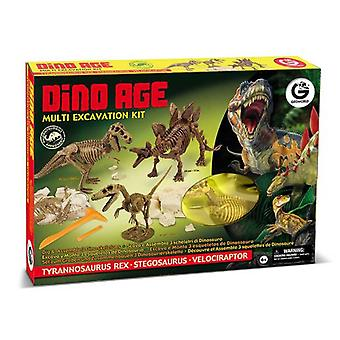 Geoworld Age Multiexcavacion Dino Kit
