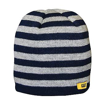Caterpillar 1128041 Striped Knitted Cap Stripe Boyss Beanie