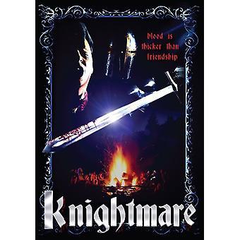 Knightmare [DVD] USA importerer