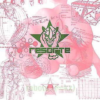 Resorte - F = kx Rebota [CD] USA import