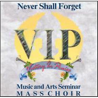 VIP musik & Arts Seminar masse - aldrig skal glemme [CD] USA import