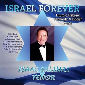 Isaac Salinas - Israel Forever [CD] USA import