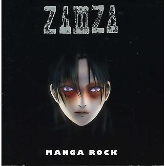 Zamza - Manga Rock [CD] USA importerer