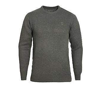 VOI JEANS Mayweather Crew Neck Sweater Charcoal Marl