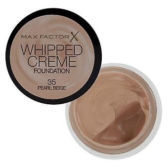 Max Factor Max Factor Whipped Cream Foundation Pearl Beige 35