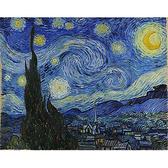 Vincent Van Gogh - Starry Night, 1889 Poster Print Giclee