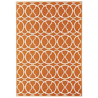 In - and outdoor carpet balcony / living room vitaminic orange natural 160 x 230 cm