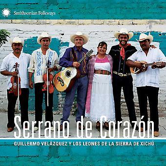 Velazquez, Guillermo Y Los Leones De La - Serrano De Corazon [CD] USA importazione