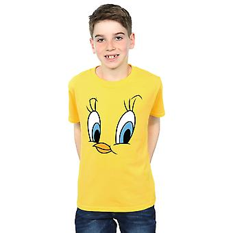 Looney Tunes pojkar Tweety Pie Face T-Shirt