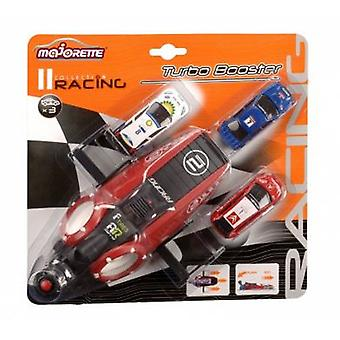 Majorette Caster Racing Booster + 3 Cars