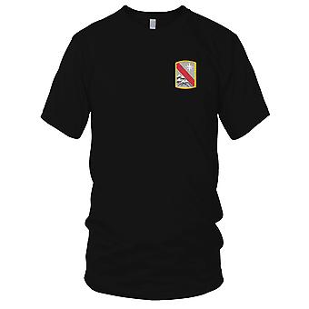 US Army - 43rd Sustainment Brigade Embroidered Patch - Mens T Shirt