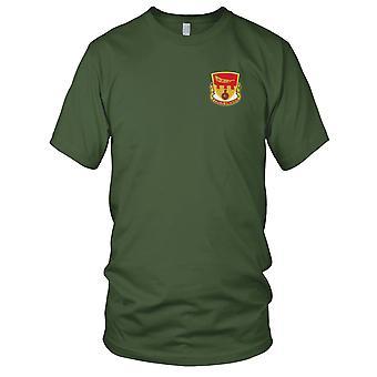 Batalhão de artilharia de campo no ar - 675th dos EUA exército bordada Patch - Mens T-Shirt
