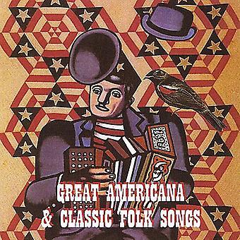 Americana - grote Americana & Classic volksliederen [CD] USA importeren