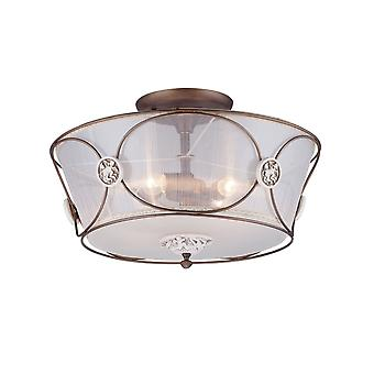 Maytoni Lighting Letizia Elegant Collection Ceiling Lamp, Bronze