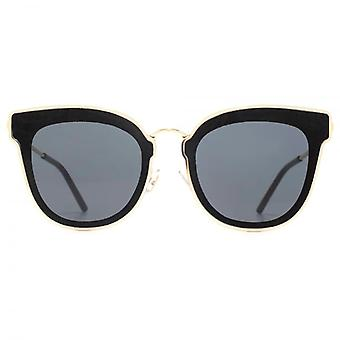 Jimmy Choo Nile Sunglasses In Gold Black