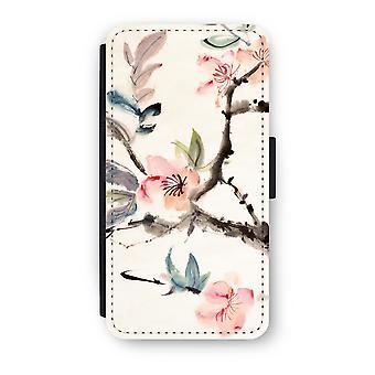 Huawei P9 Flip Case - flores de Japenese