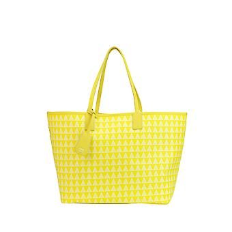 Protection women's MCGLBRE03159E yellow leather tote