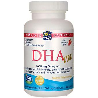 Nordic Naturals Nordic Naturals DHA Extra Strawberry 1000 mg 60 Capsule