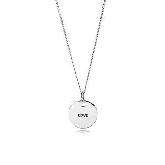 PANDORA Love Disc Necklace ENG397122-1-60