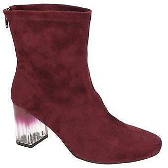 Spot On Womens/Ladies Smart Heeled Ankle Boots