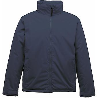 Regatta Mens Classic Insulated Concealed Hood Waterproof Jacket TRA370 Navy