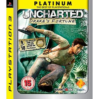 Uncharted Drakes Fortune - Platinum Edition (PS3)