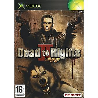 Död för rättigheter II (Xbox)