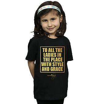 Notorious BIG Girls Stil und Anmut-t-Shirt