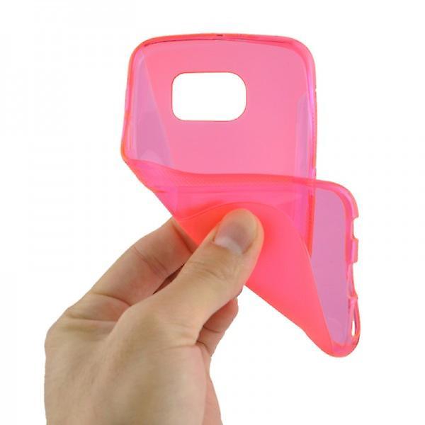 Silikonhülle S-Line Pink für Samsung Galaxy S6 G920 G920F