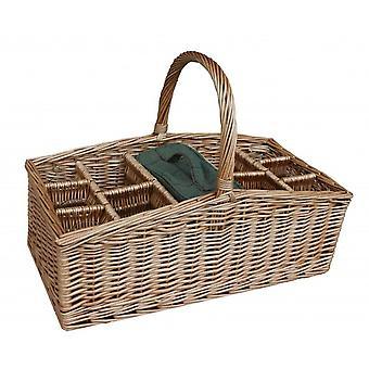 Wicker Outdoor Party Basket