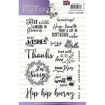 Find It Precious Marieke Timeless Flowers Clear Stamps-