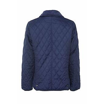 Champion Country Estate Womens Diamond Quilted Coat Jacket - Navy - 16