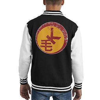 Razorback-Logo die weite Kid Varsity Jacket