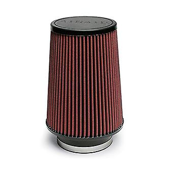 Airaid 700-422 Universal Clamp-On Air Filter: Round Tapered; 3.5 in (89 mm) Flange ID; 8 in (203 mm) Height; 6 in (152 m