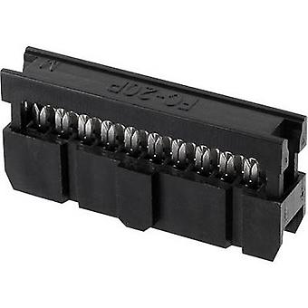 econ connect Pin connector Contact spacing: 2.54 mm Total number of pins: 60 No. of rows: 2 1 pc(s) Tray